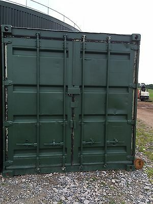 20 x 8 ft Used Shipping Container. Dry and watertight. Security Lock