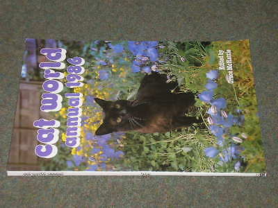 Cat World 1986 Annual edited by Grace McHattie