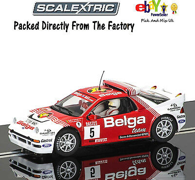 SCALEXTRIC Slot Car   Ford RS200 C3637