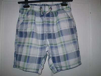 Boys Check Shorts from Next Age 13 years