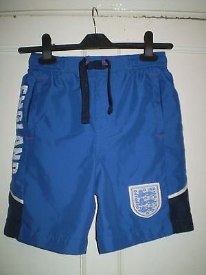 Boys Blue England Football Shorts From Marks & Spencers Age 11-12 yrs