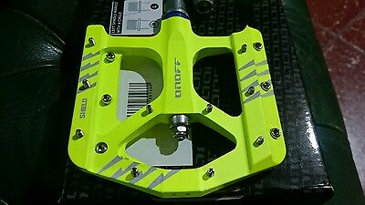 Pedales Onoff Shield Limited neon Yellow nuevo Mtb