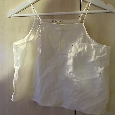 Vintage tommy hilfiger crop top size small