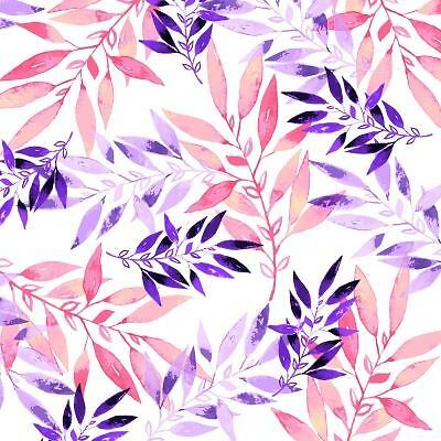 4 x Paper Napkins - Watercoloured Leaves - Ideal for decoupage / decopatch