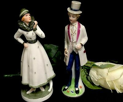 Two Delightful China Figures