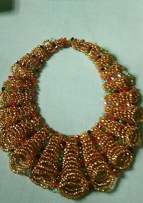 Hand made authentic bead necklace