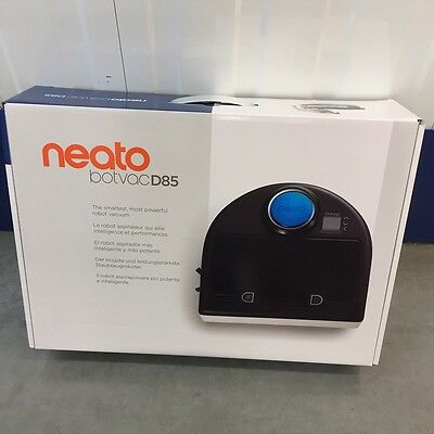 Neato Botvac D85 Robot Laser Vacuum Cleaner 0.7 Litre for Pet Hairs Lasersmart