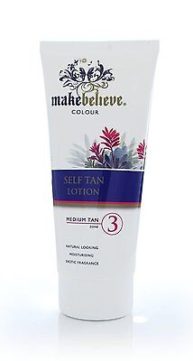 Brand New MakeBelieve Colour Self Fake Tan Lotion Medium Zone 3 200ml