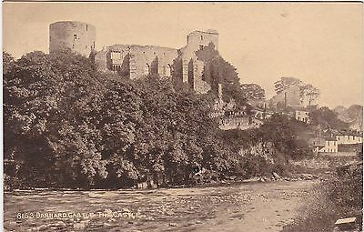 The Castle From River Tees, BARNARD CASTLE, County Durham