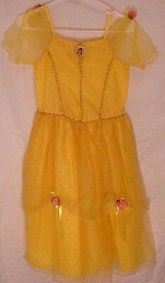 Disney Store Girl's Princess Belle Yellow Dress (size 10-12)