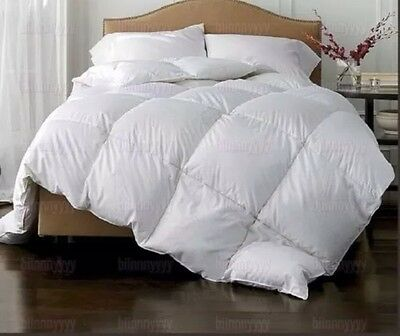 KING SIZE 15 TOG *LUXURIOUS* 85% Goose Feather and 15% Down Duvet *