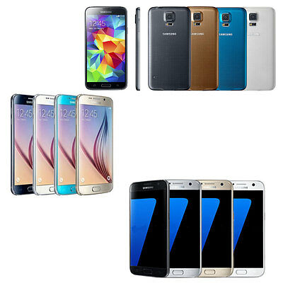 New Samsung Galaxy S5/S6/S7 Duos Factory Unlocked GSM Andriod Smartphone
