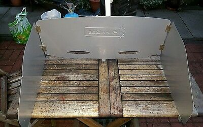 camping cooker windshield