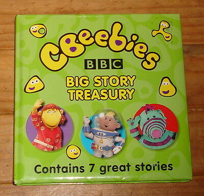 CBeebies Book: CBeebies Big Story Treasury Contains 7 Great Stories BBC