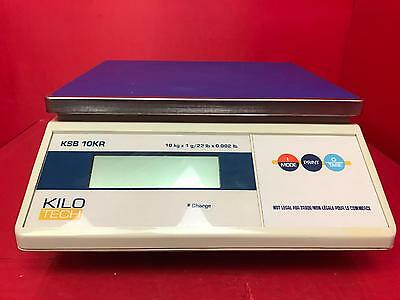 Kilo Tech KSB 10KR Scale *AS IS/FOR PARTS*