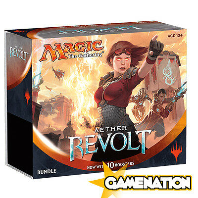 Magic the Gathering: Aether Revolt Bundle (includes 10 Booster Packs)