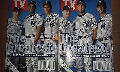 Tv Guide Ny Yankees Complete Set (6)   New