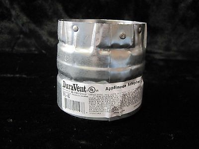 """DuraVent 3PVL-AD 3"""" Appliance Adapter For Pellet Stove A5878"""