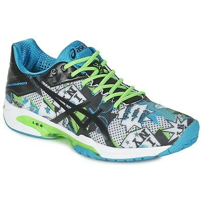 Men's Tennis ASICS GEL Solution Speed 3 NYC Limited Edition UK 8 EU 42.5