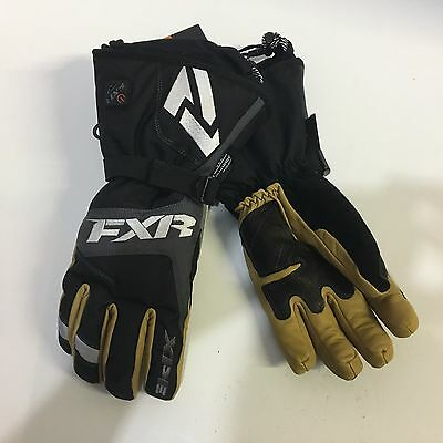 Open Box FXR Recon Battery Powered Heated Snowmobile Gloves Size Small