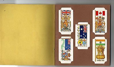 Brooke Bond cigarette  cards -  Flags and Emblems of the World 1967