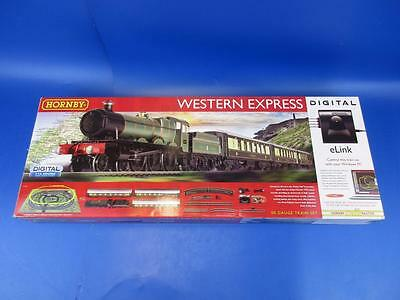 Brand New Hornby R1184 Western Express Set With Tts Sound!