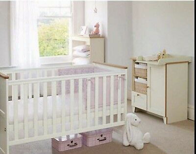 John Lewis Cot Bed And Unit
