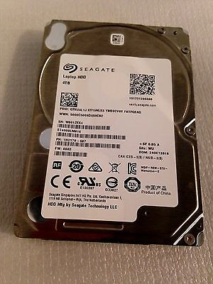 Seagate St4000Lm016 Laptop Hdd 4Tb 5400Rpm Sata-6Gbps 128Mb Buffer 15Mm 2.5Inch