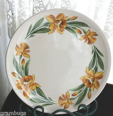 Vintage Yellow Jonquil  Dinner Plate