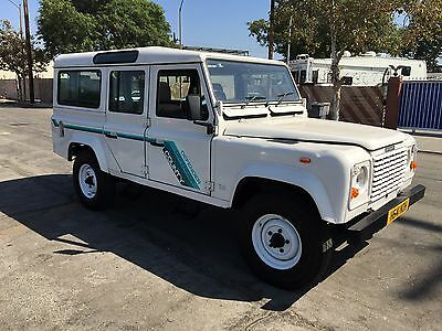 1991 Land Rover Defender County 1991 Land Rover Defender 110 Turbo County