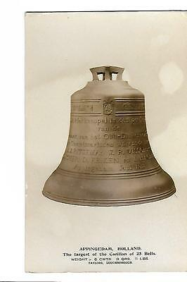 Appingedam. Largest Bell. Taylor's of Loughborough. Bell Founders. R/P.