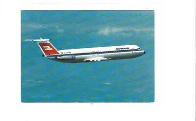 Germania Airlines issued BAC 1-11  postcard