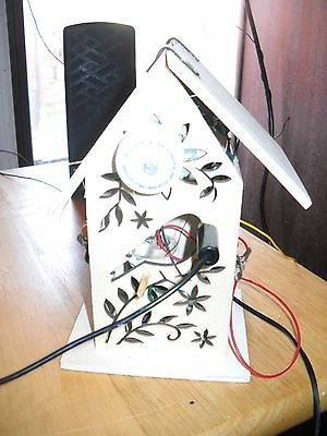 Home Made Birdhouse Am Crystal Radio Made From All Spare Parts