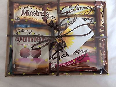 Fathers Day Galaxy Chocolate Sweet Hamper Birthday Gift Selection Box Present