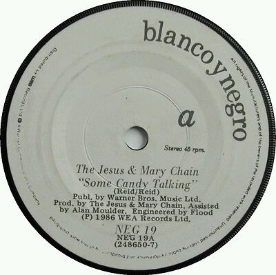 The Jesus & Mary Chain, Some Candy Talking, Psycho candy, Hit, Rare Irish Vinyl