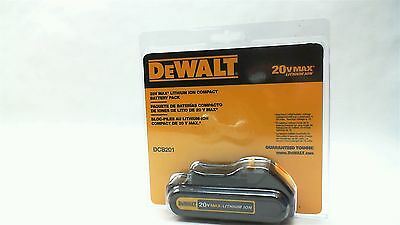 DeWALT DCB201 20V MAX Lithium Ion Compact Battery Pack 1.5 aH NEW SEALED