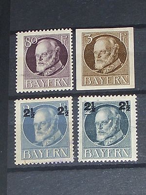 early Germany stamps mint (i do combine p&p) 8