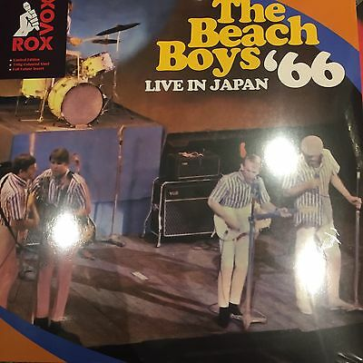 The Beach Boys - Live In Japan '66 - Coloured Vinyl Lp - New And Sealed