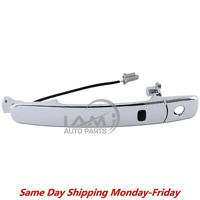 For 03-07 Nissan Murano Front Driver Side Outside Chrome Door Handle Smart Entry