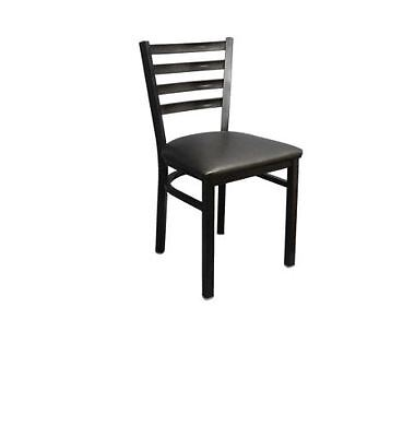 New Commercial Ladder Back Metal Chair Restaurant Seating Furniture Lounge #835