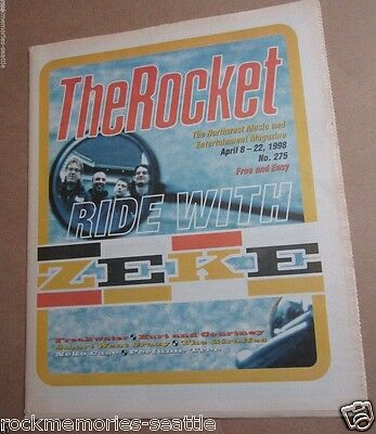 Zeke Neko Watts Cantrell Courtney Love The Rocket Magazine Art Music Seattle