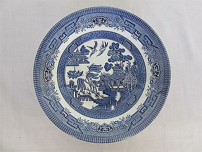 Churchill Old English blue willow pattern - soup bowl (Lot 3)
