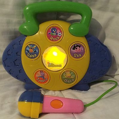 Fisher-Price Backyardigans Sing-Along Music Maker!!! Absolutely Awesome A1+++++