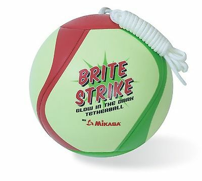 Mikasa Glow in the Dark outdoor tetherball green/red/Smart Glo