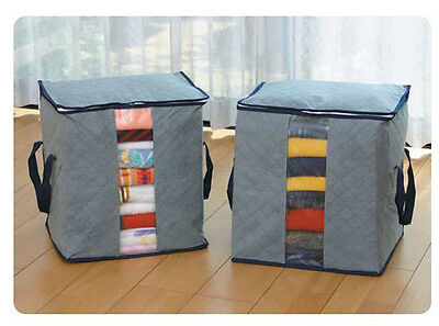 High-quality Bamboo Charcoal Fabric Clothing Dust Proof Storage Bags PR