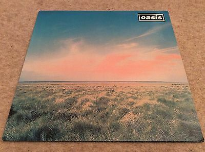 Oasis. Whatever. 12 Inch Vinyl With Picture Inlay. Immaculate Condition.