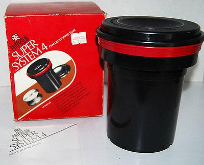 Paterson super System 4 Film Developing Tank PTP115