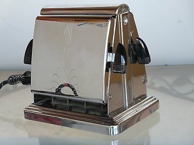 Vintage DOMINION ELECTRIC TOASTER # 1109 - MANSFIELD OHIO - 1930'S - VERY NICE