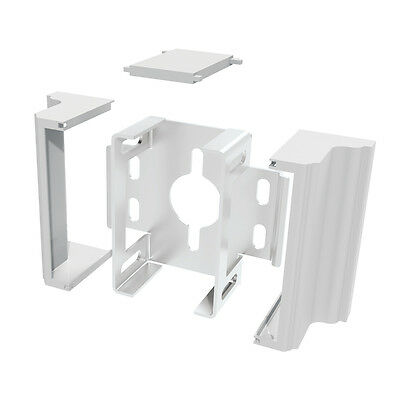Gatehouse 2-Pack 73013962 White Aluminum Fence Brackets