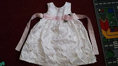 White Baby Girl Christmas  Party , Weddind Dress Size 18-24 Months